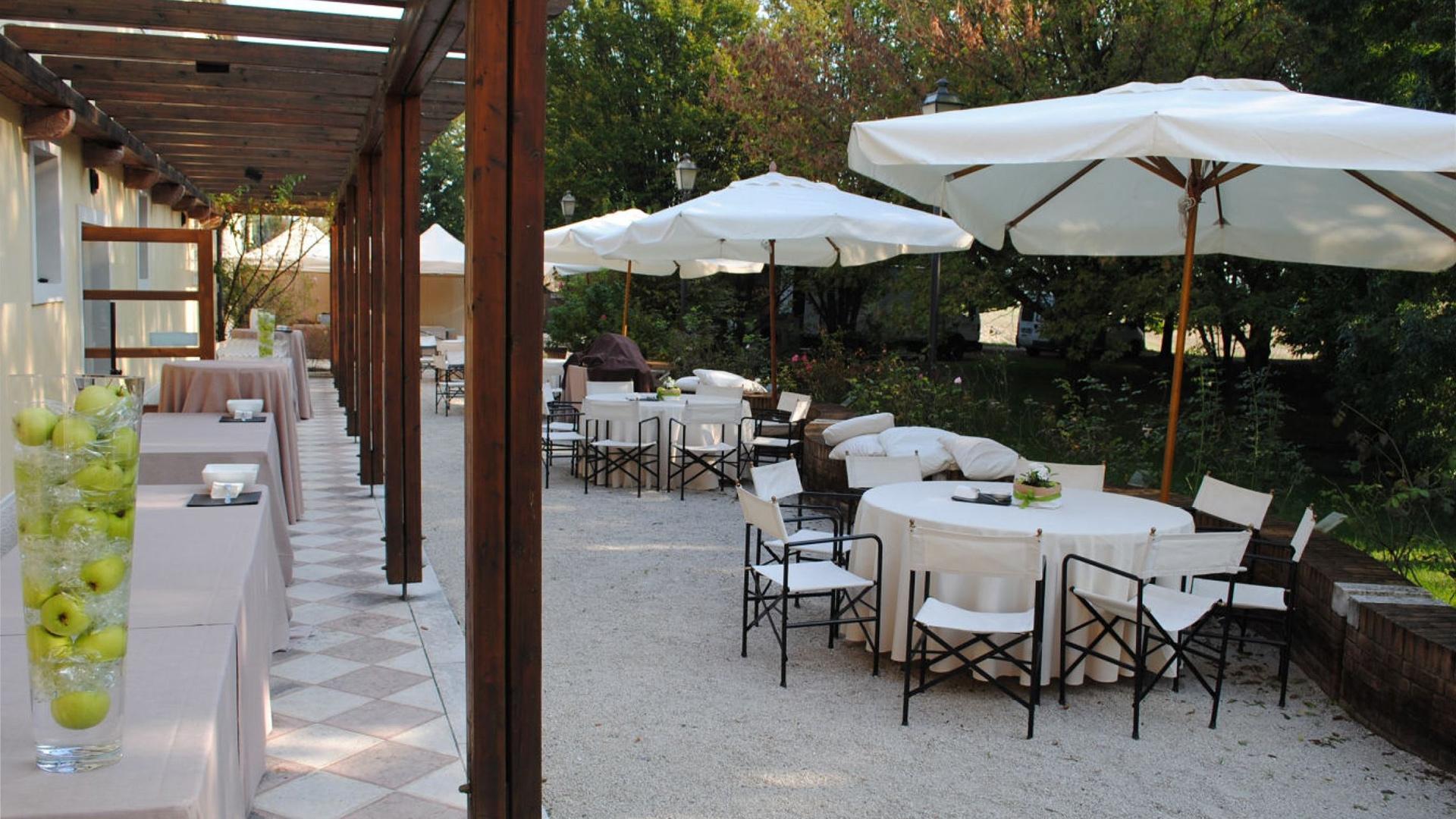 Area esterna Catering