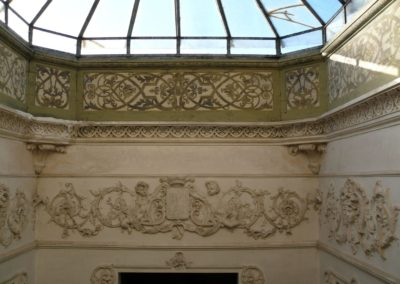 Interno Villa - particolare vano scale