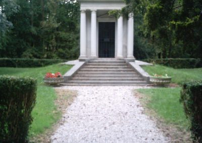 Mausoleo - entrata